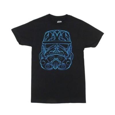Tシャツ 海外セレクション Star Wars Neon Stormtrooper Licensed Adult T Shirt