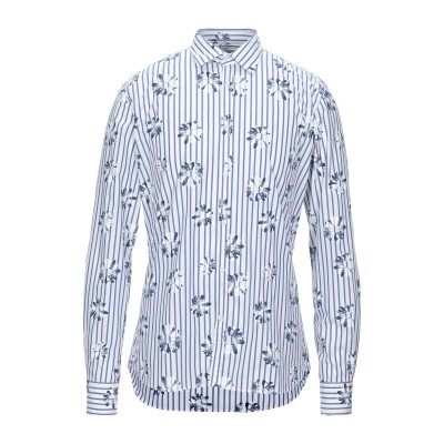 アリーニ AGLINI シャツ ホワイト 41 コットン 100% シャツ