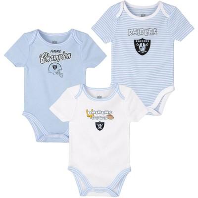 NFL新生児3 Piece Onesie Set ブルー 並行輸入品
