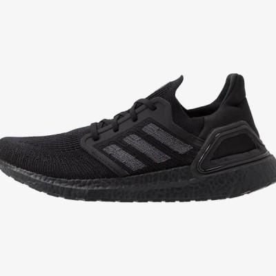 アディダス メンズ スポーツ用品 ULTRABOOST 20 PRIMEKNIT RUNNING SHOES - Neutral running shoes - core black/solar red