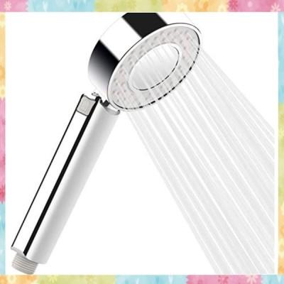 シャワーヘッド 節水 取り付け簡単高水圧節水 低水圧増圧 工具不要 シャワー 3段階モードシャワーヘッド 水量
