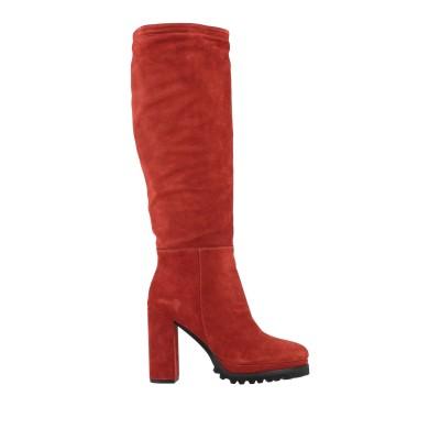 KARIDA ブーツ 赤茶色 36 革 ブーツ
