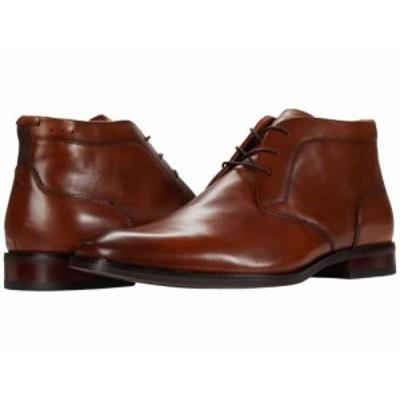 Florsheim フローシャイム メンズ 男性用 シューズ 靴 ブーツ チャッカブーツ Sorrento Plain Toe Chukka Boot Cognac【送料無料】