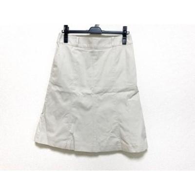 バーバリーロンドン Burberry LONDON スカート サイズ40 L レディース ベージュ【還元祭対象】【中古】20200905