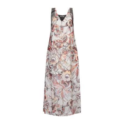 KARTIKA ロングワンピース&ドレス アイボリー 40 ポリエステル 100% / レーヨン ロングワンピース&ドレス