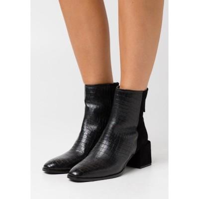 ジン ブーツ&レインブーツ レディース シューズ Classic ankle boots - black