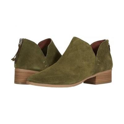 Kenneth Cole Reaction ケネスコール レディース 女性用 シューズ 靴 ブーツ アンクル ショートブーツ Side Skip - Olive
