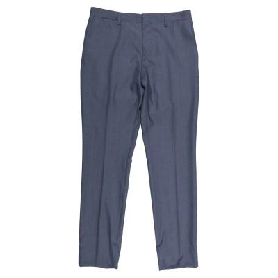 BURBERRY パンツ ブルーグレー 48 ウール 57% / シルク 43% パンツ