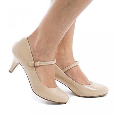 シティークラッシフィード レディース パンプス City Classified Comfort Women's Kirk Mary Jane High Heel