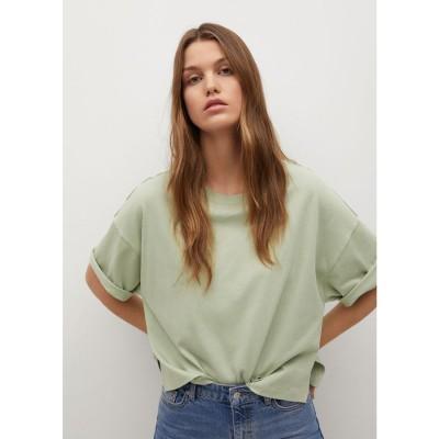 Tシャツ .-- MADRID (ミディアムグリーン)