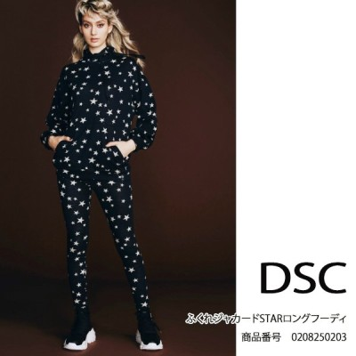 SALE セール 0208250203 DOUBLE STANDARD CLOTHING ふくれジャカードSTARロングフーディ  送料無料 あすつく