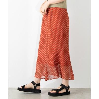 WEGO / WEGO/マーメイドシフォンロングスカート WOMEN スカート > スカート