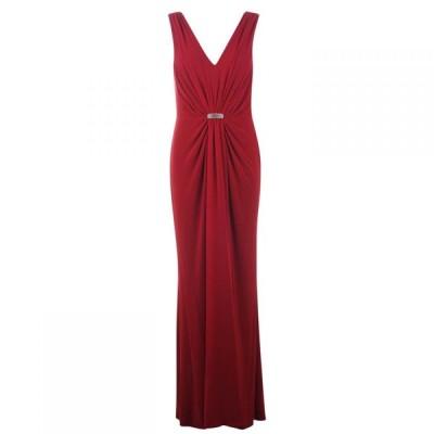 ラルフ ローレン Lauren Ralph Lauren Occasion レディース ワンピース ワンピース・ドレス Vawlisa Dress Vibrant Garnet