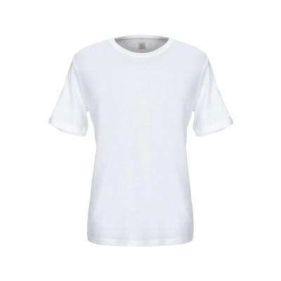 イレブンティ ELEVENTY T シャツ ホワイト L コットン 100% T シャツ