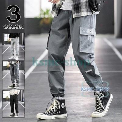 カーゴパンツ メンズ ロングパンツ 作業着 カジュアルパンツ ワークパンツ ボトムス メンズファッション