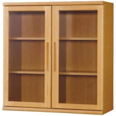小島工芸 日本製 組立不要 健康仕様のFフォースター 耐荷重に優れた中がしっかりつまった丈夫な棚板 高さ95.2cm 開戸タイプ 書棚 OF-90開戸