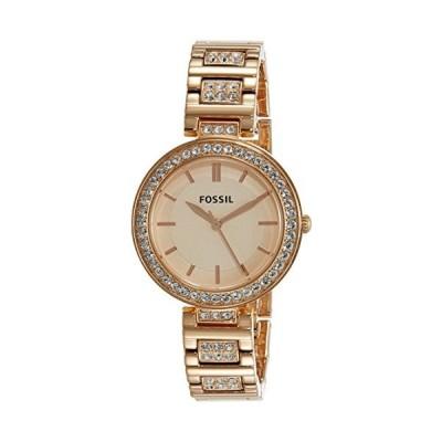 Fossil Karli Three-Hand Rose Gold-Tone Stainless Steel Watch BQ3181【並行輸入品】