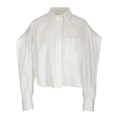 ヴァレンティノ レディース カットソー トップス Valentino Oversized Cropped Shirt -