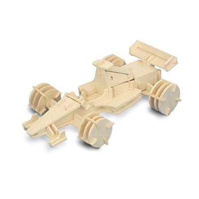 Formula 1 Racing Car Woodcraft Construction Kit[並行輸入品]