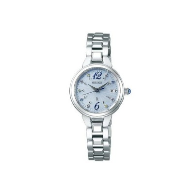 [セイコー]SEIKO ルキア LUKIA 電波 ソーラー 限定モデル 腕時計 レディース SSVW157