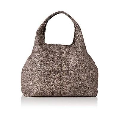 Borbonese Women's Savile Medium Messenger Bag, Marrone (Op Naturale/Marrone) 並行輸入品