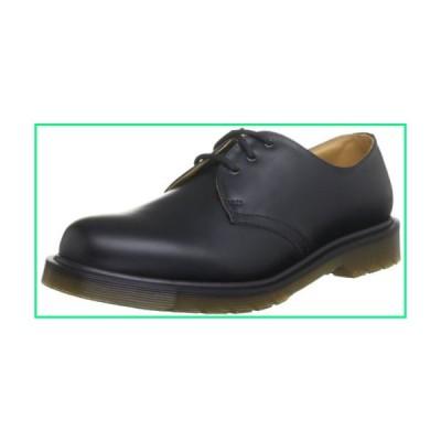 Dr. Martens Unisex-Adult 11839002 Original 3 Eyelet Shoe 1461 Black Leather Oxfords-Shoes 6 UK 6 F(M) UK