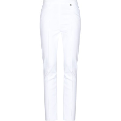 VERSACE COLLECTION パンツ ホワイト 38 レーヨン 84% / ナイロン 12% / ポリウレタン 4% パンツ