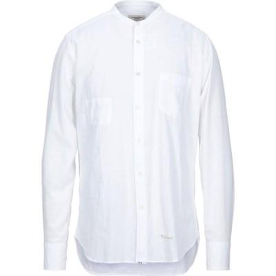 ティントリア マッティ TINTORIA MATTEI 954 メンズ シャツ トップス solid color shirt White