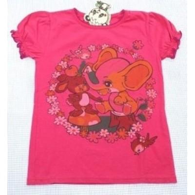 グラグラ GRANDGROUND 半袖Tシャツ ピンク 140cm 新品 ピンク系 トップス 女の子 キッズ ジュニア 子供服 通販