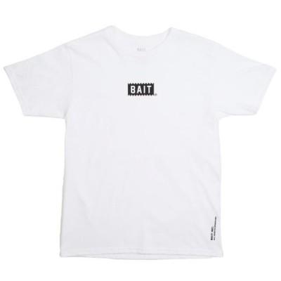 ベイト メンズ 服  BAIT Men Bite Logo Tee (white)