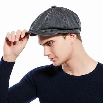 ハンチング キャスケット キャップ 帽子 メンズ 男性用 デニム お洒落 おしゃれ カジュアル 大人 フリーサイズ