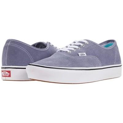 バンズ ComfyCush Authentic メンズ スニーカー 靴 シューズ (Suede) Granite Blue