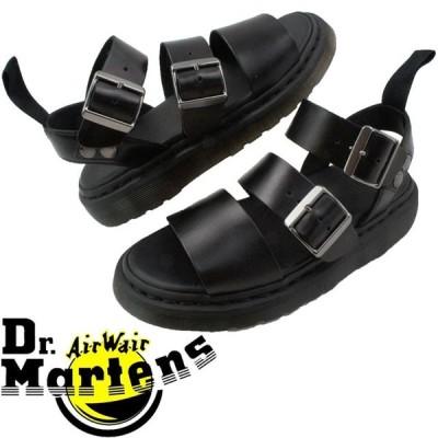 ドクターマーチン Dr.Martensレディース コンフォートサンダル グリフォン ブラック 疲れにくい 厚底