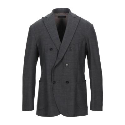 ラルディーニ LARDINI テーラードジャケット 鉛色 50 ウール 97% / ポリウレタン 2% / ナイロン 1% テーラードジャケット