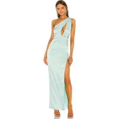 エヌビーディー NBD レディース パーティードレス ワンピース・ドレス Owen Gown Light Blue