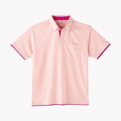 トムス チームTシャツ ユニフォーム 00315-665-S-AYB 4.4オンス ドライレイヤードボタポロシャツ ライトピンク×ホットピンク S 00315-665-S <2019AWCON>