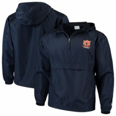 Champion チャンピオン スポーツ用品  Champion Auburn Tigers Navy Packable Jacket