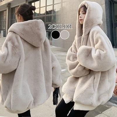 新作追加 特価 華やか暖かい人工ファー 秋と冬服新しいファッションステッチぬいぐるみ厚いのジャケットの女性 韓国ファッション