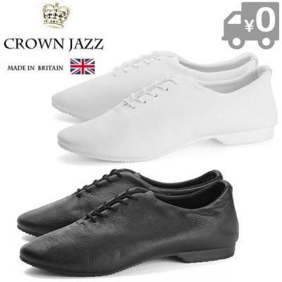 クラウン ジャズ レザーシューズ レディース ダンスシューズ CROWN JAZZ