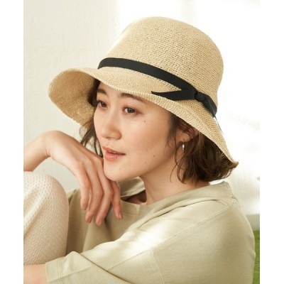 ROPE' PICNIC / 細編みリボンダウンハット WOMEN 帽子 > ハット