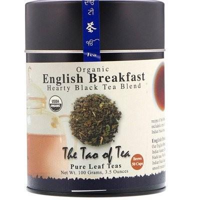 100% オーガニック イングリッシュ・ブレックファースト紅茶, 3.5 オンス (100 g)