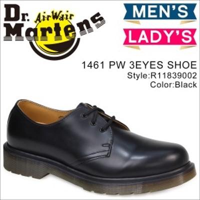 ドクターマーチン Dr.Martens 3ホール 1461 PW メンズ レディース オックスフォード シューズ R11839002