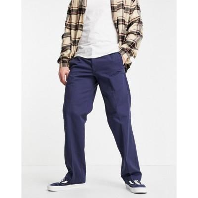 ディッキーズ Dickies メンズ ボトムス・パンツ Vancleve Trousers In Navy ネイビーブルー