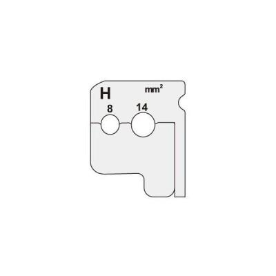デンサン ワイヤーストリッパー替刃 DIV-814KP