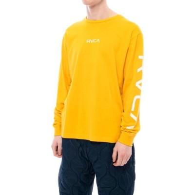 SUBURB / RVCA メンズ   SMALL RVCA LS ロングスリーブTシャツ/ルーカ 長袖 ロンT 袖プリント MEN トップス > Tシャツ/カットソー