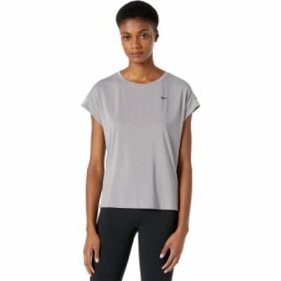 リーボック Reebok レディース Tシャツ トップス Workout Ready Supremium Detail Tee Gravity Grey