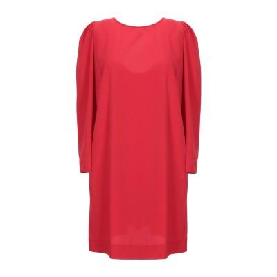 スーベニア SOUVENIR ミニワンピース&ドレス レッド S ポリエステル 93% / ポリウレタン 7% ミニワンピース&ドレス