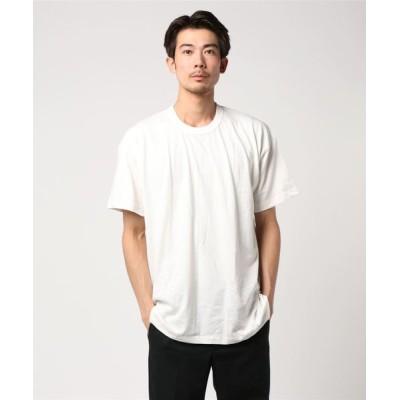 tシャツ Tシャツ 「S.O.S.from Texas/エスオーエス フロム テキサス」  アメリカ製/オーガニックコットン 半袖クルーネック Tシャ