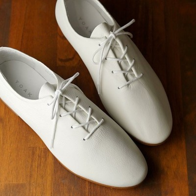 ヨーク YOAK 国産カジュアルシューズ チャーリー CHARLIE  SS20 メンズ 日本製 レザーシューズ 靴 WHITE ホワイト系