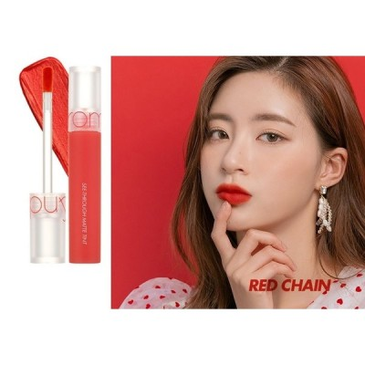 rom&nd(ロムアンド) See-Through Matte Tint #4 RED CHAIN